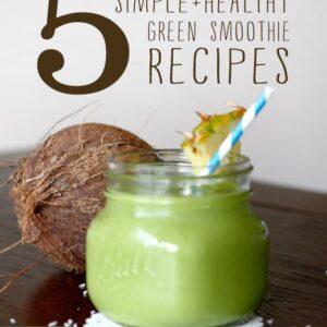 5 smoothies